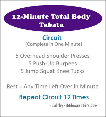 12-Minute Total Body Tabata