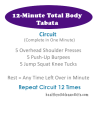 12-Minute Total Body Tabata