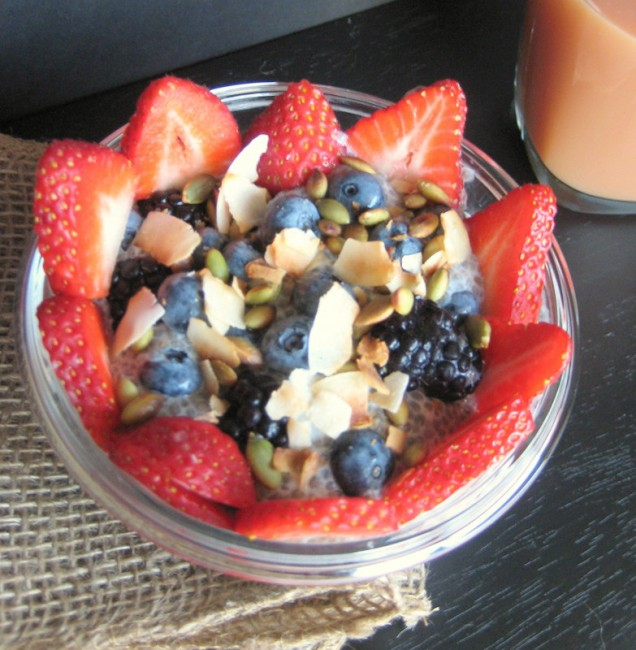 Chia Pudding Breakfast | Healthy Nibbles & Bits