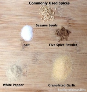 Spices Chart