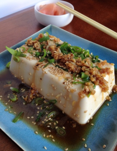 Cold Tofu Appetizer