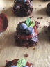 Flourless Brownies and Mint Ganache 2