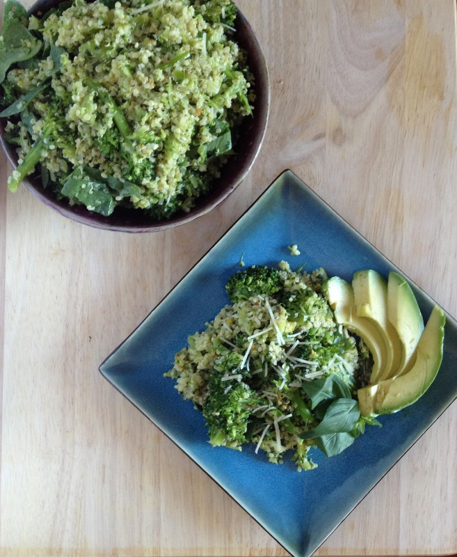 Green With Envy Quinoa Lunch
