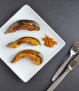 Maple Curry Acorn Squash | Healthy Nibbles and Bits
