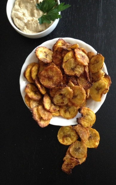 Garlic & Spice Plantain Chips